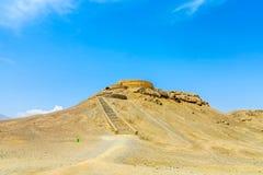 Zoroastriano Dakhmeh 03 di Yazd fotografie stock