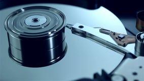 A zorra disparou da movimentação de disco rígido com bandeja de giro vídeos de arquivo