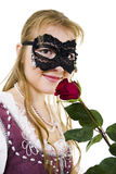 Zorro girl Royalty Free Stock Photos