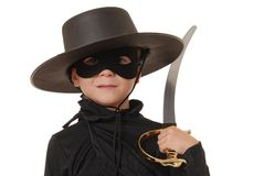 Zorro Of The Old West 9 Royalty Free Stock Photo