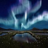 zorz borealis Obraz Royalty Free