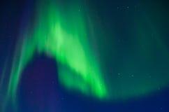 Zorz borealis Zdjęcie Stock