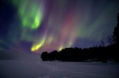 Zorz borealis fotografia stock