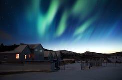 Zorz borealis Zdjęcia Royalty Free