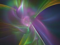 Zorz borealis kształtów abstrakta tło Fotografia Stock