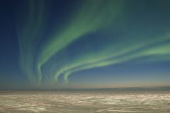 zorza polarna mroczni Zdjęcie Royalty Free