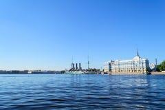Zorza w St Petersburg Fotografia Royalty Free