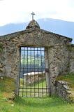 Zorzoi, Itália, cemitério fotografia de stock royalty free