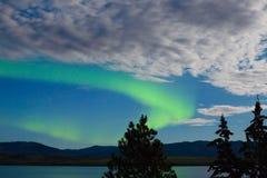 zorzy borealis pokaz zaświeca północnego Zdjęcie Stock