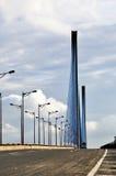 zostający bridżowy kabel zdjęcia stock