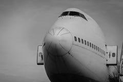 Zostaje nietknięty, ale samolot no latał zdjęcie royalty free