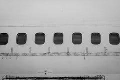 Zostaje nietknięty, ale samolot no latał obraz stock