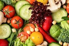 zostaw świeżą wodę warzyw stołową zdjęcia royalty free