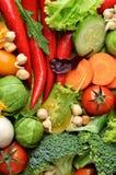 zostaw świeżą wodę warzyw stołową Obrazy Stock
