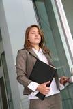 zostaw biznesowej kobieta Obrazy Stock