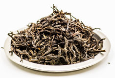 zostaw czarną herbatę Fotografia Royalty Free
