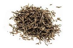 zostaw czarną herbatę Fotografia Stock