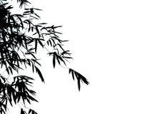 zostaw ilustracja bambusowa tła wektora obrazy stock