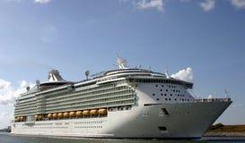 zostaw na port statku obraz royalty free