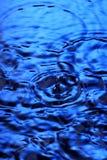 zostaw podeszczową wody fotografia stock