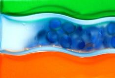 zostaw przejrzystej wody Zdjęcie Royalty Free