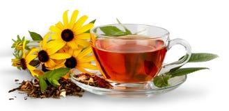 zostaw szklanki herbaty Zdjęcia Stock