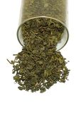 zostaw zielony herbatę zdjęcie stock