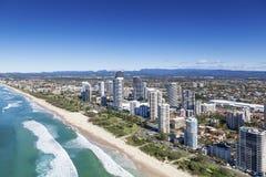 Złota wybrzeże, Queensland, Australia Obrazy Stock