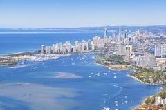 Złota wybrzeże, Queensland, Australia Zdjęcia Royalty Free