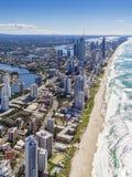 Złota wybrzeże, Queensland, Australia Obrazy Royalty Free