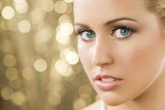 złote blondyna, Zdjęcie Royalty Free