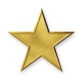 złoto gwiazda Fotografia Royalty Free