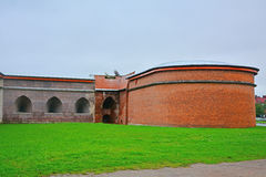 Zotov bastion of Peter and Paul Fortress in Saint Petersburg, Russia Royalty Free Stock Photos