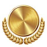 Złoty medal Zdjęcia Royalty Free