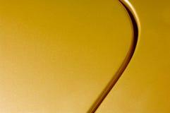 złoty panel Fotografia Stock