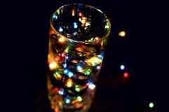 Zou u van een glas van vakantie houden? Stock Afbeelding