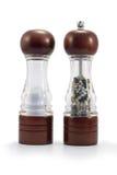 Zout en pepermolennen Royalty-vrije Stock Foto