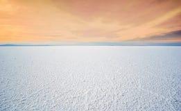 Zout meer Uyuni in Boliva stock foto