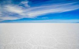 Zout meer Uyuni in Bolivië stock afbeeldingen