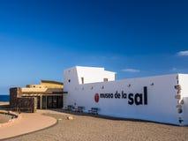 Zout Museum in Fuerteventura, Canarische Eilanden royalty-vrije stock fotografie