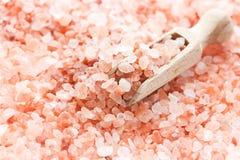 Zout van het Himalayan het roze kristal royalty-vrije stock afbeeldingen