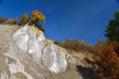 Zoute Berg in Praid, Harghita, Roemenië Stock Foto's