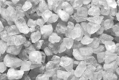 Zoute kristallen Stock Afbeeldingen
