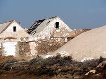 Zoute Landbouwbedrijven dichtbij Tavira Portugal royalty-vrije stock fotografie