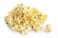 Zoute popcorn stock afbeeldingen