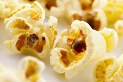 Zoute popcorn royalty-vrije stock foto