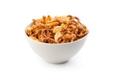 Zoute snacks Royalty-vrije Stock Foto