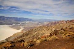 Zoute Vlakten van het Nationale Park van de Doodsvallei Stock Afbeelding