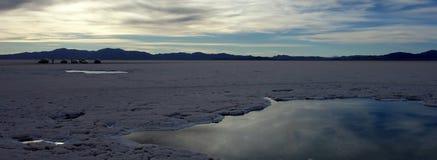 Zoutmeren grandes/grote salines - salta & jujuy, Argentinië stock foto