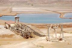 Zoutmeren - het Eiland van het Zout, Kaapverdië Stock Afbeelding